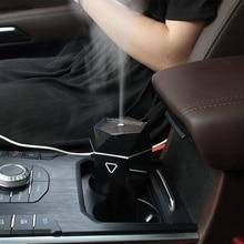 Soodacho Mini USB araba hava nemlendirici uçucu yağ Aroma YAYICI aromaterapi serin Mist Maker koku araba difüzör