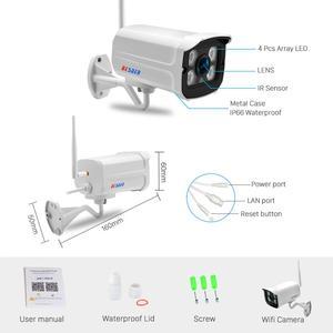 Image 5 - Besder Audio Wifi Camera 1080P Onvif Draadloze Alarm Push Icsee P2P 2MP Cctv Bullet Outdoor Ip Camera Met Sd card Slot Max 64Gb
