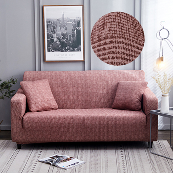 Sofa Covers for Living Room Modern Floral Printed Stretch Sectional Slipcover Polyester L Shape Armchair Couch Case 1/2/3/4 Seat 17