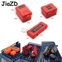 3 pçs/set RC Carro de Plástico Caixa De Armazenamento De Decoração Ferramenta para Traxxas TRX4 SCX10 90046 Acessórios Y09 D90 1/10 RC Crawler Axial