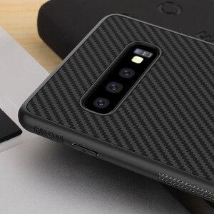 Image 4 - sFor Samsung Galaxy S10 Plus Case Nillkin Synthetic Fiber Carbon Fiber PP Back Cover Case for Samsung Galaxy S10 Plus S10+ S10E