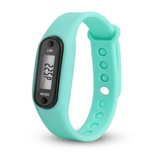 Digital LCD Silicone Wrist Band Pedometer Run Step Walk Distance Calorie Counter Wrist Adult Sport Fitness Watch Drop Shiiping цена в Москве и Питере