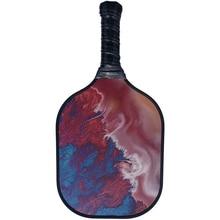 Pickleball Весло ручные удобные аксессуары стекловолокно битая ракетка Спортивная красочная игровая рукоятка сотовый край защита
