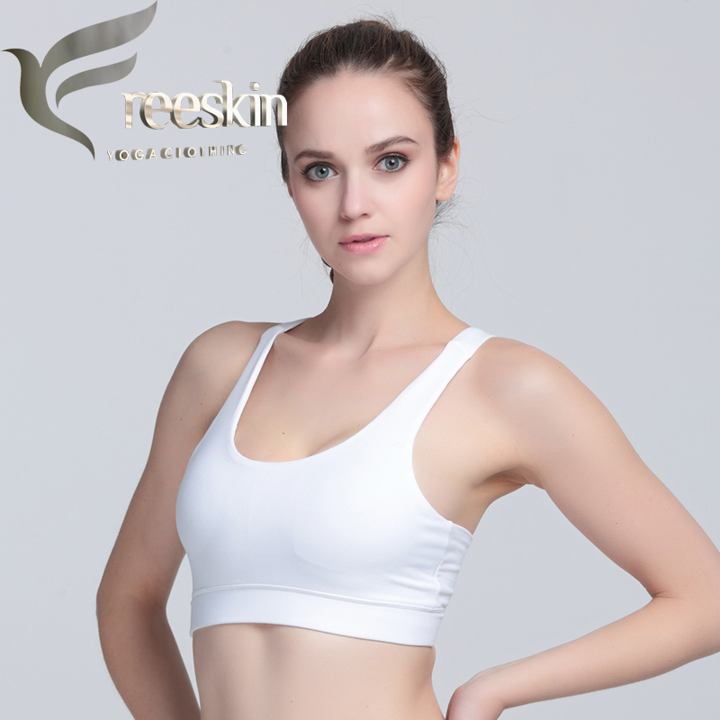 Zhangyunuo Women Yoga Bra Plus Size Patchwork Sports Bra Gym Cross Backless Bra Yoga Padded Mujer Strappy Cropped Top Fitness in Sports Bras from Sports Entertainment