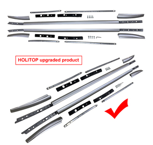 Image 2 - New arrival roof rail roof rack bar for Nissan QASHQAI 2018 2019 2020, guarantee quality,supplied by ISO9001:2008 big factory