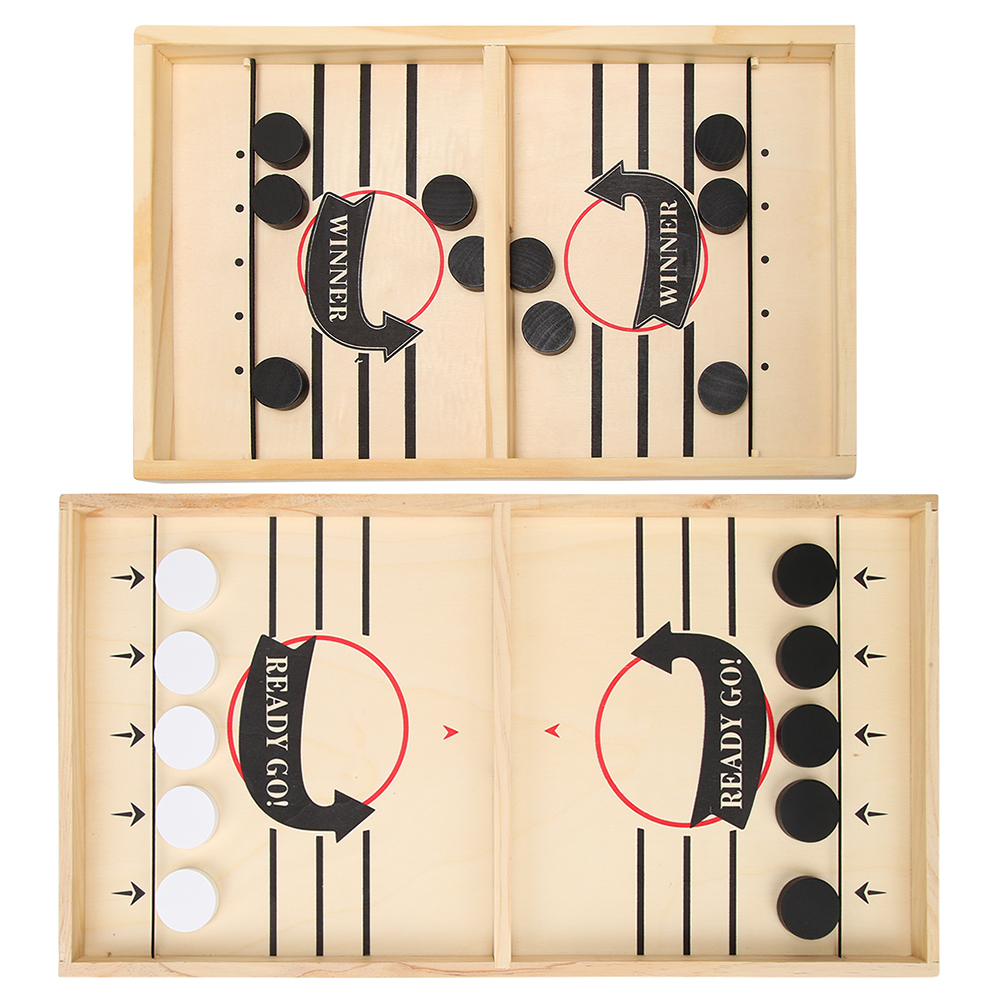 Foosball Winner Games Table Hockey Game Catapult Chess Parent-child Interactive Toy Fast Sling Puck Game Ice Hockey For Children