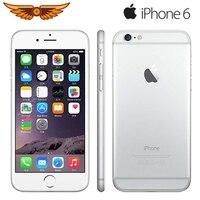 Entsperrt 100% Original Apple iPhone 6 Dual Core 4 7 Zoll 1GB RAM 16/64/128GB ROM 8MP Kamera WCDMA LTE IPS IOS Verwendet Smartphone-in Handys aus Handys & Telekommunikation bei