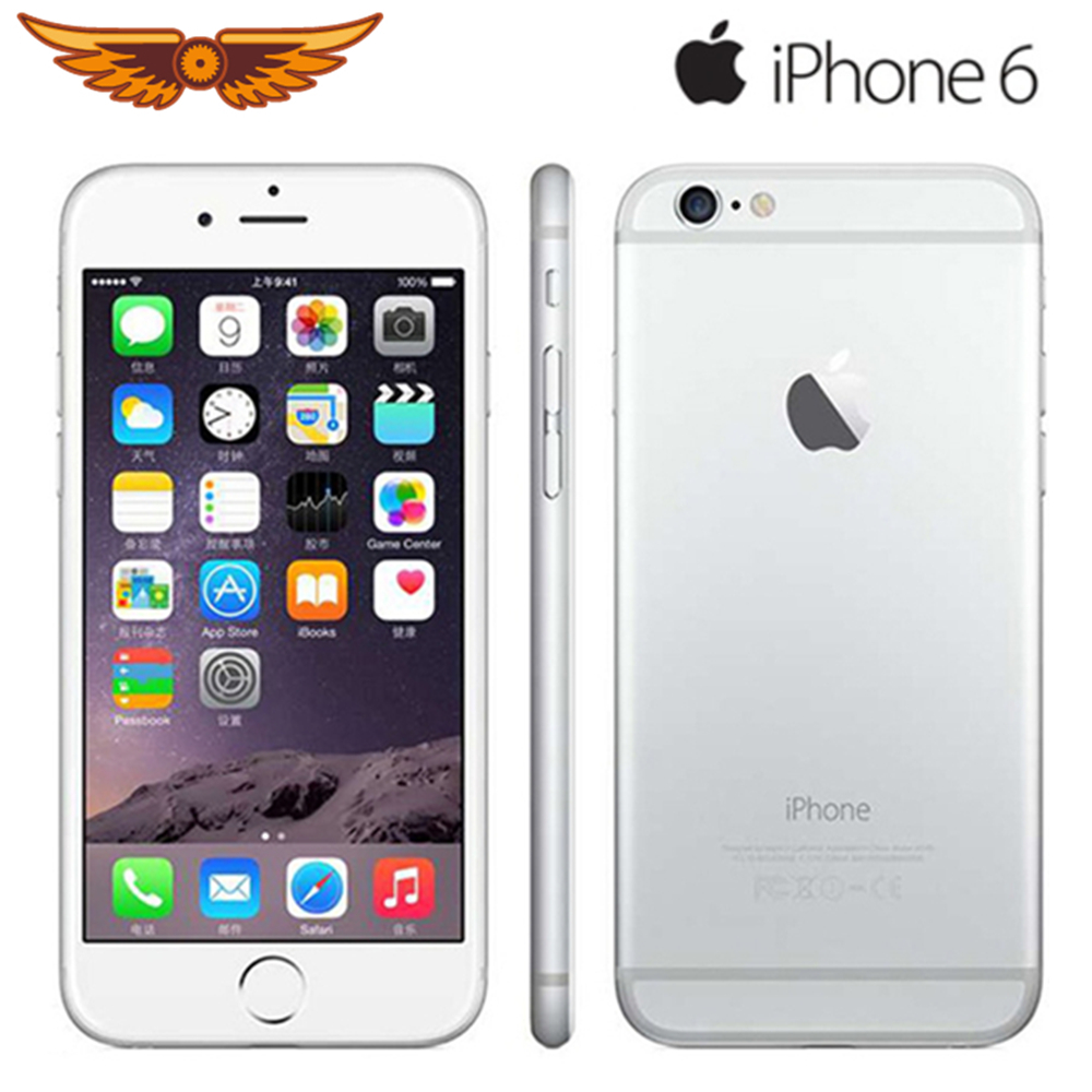 Apple iPhone 6 100%Original 64gb 1GB Nfc Quick Charge 3.0 Dual Core Fingerprint Recognition title=