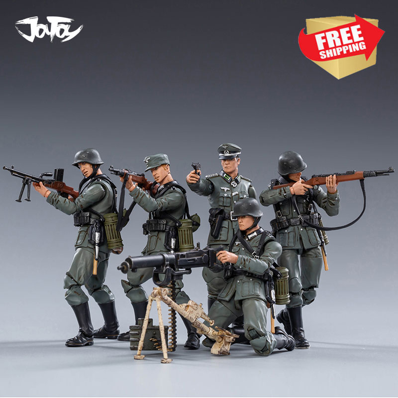 JOYTOY 1/18 Action Figure Germany Wehrnacht Soldier Collectible Toy Military Model WWII Christmas Gift Free Shipping