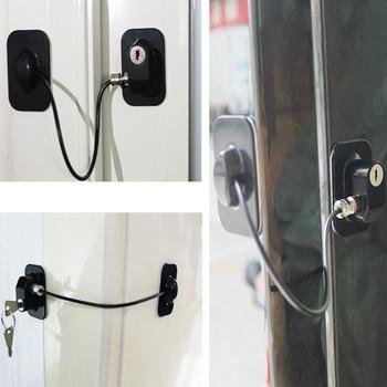 1 PC Window Lock Child Safety Lock Baby Protection Children From Being Hurt By Baby Lock Windows Door Cabinet Limiter Locks 5