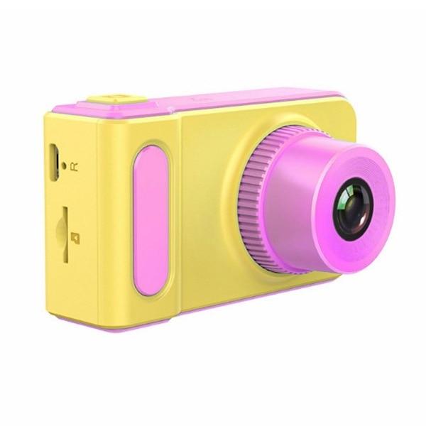 2 Million Pixel 2.0-Inch Color Screen Silica Gel Shatter-resistant Children Mini Digital Camera