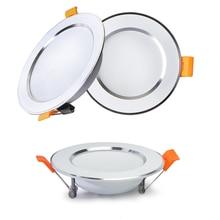 Recessed Round led Ceiling LampLED Downlight 12W 9W 7W 5W 220V 230V 240V LED Bulb Indoor Bedroom Kitchen LED Spot Lighting