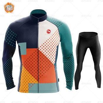 2020 velo de inverno pro conjunto camisa ciclismo mountian bicicleta roupas wear ropa ciclismo corrida roupas ciclismo conjunto 16