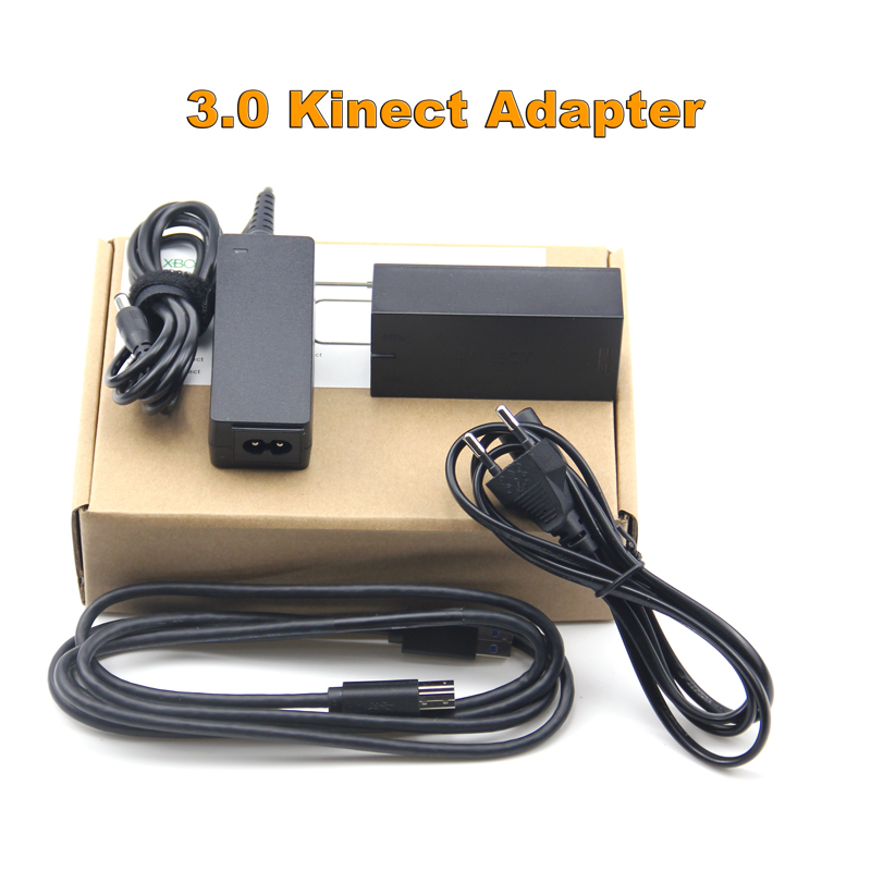 2020 New Kinect Adapter for Xbox One for XBOX ONE Kinect 3.0 Adaptor  EU Plug USB AC Adapter 3.0 Power Supply For XBOX ONE S