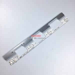Image 3 - 400PCS TV LED Bars For Toshiba 40L5400 40L2400 DL3944(A)F DL4045i Backlight Strips 4 LED Lamps lens 6 Bands KDL40SS662U 35019864