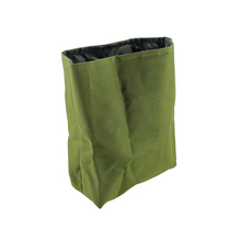 цена на Tactical MOLLE Dump Pouch Outdoor Collapsible WaistPack Drawstring Magazine Ammo Pouch Nylon