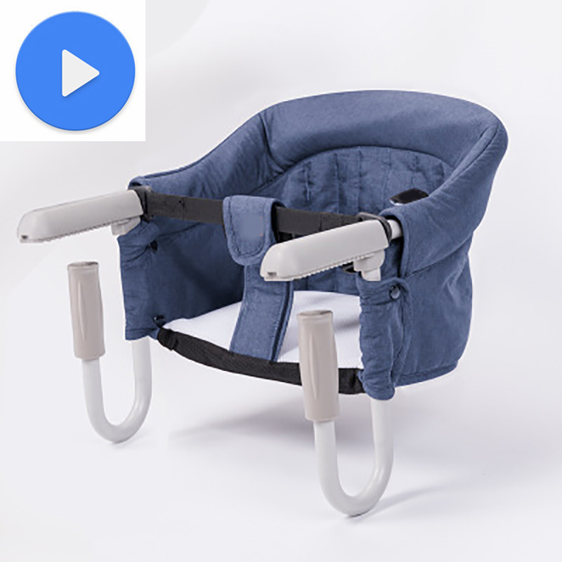 Baby Seat Inflatable Toddler Infant Baby Chair For Kids Seat Sofa Toddler Children Sitting Feeding Portable Sitting Support Gray