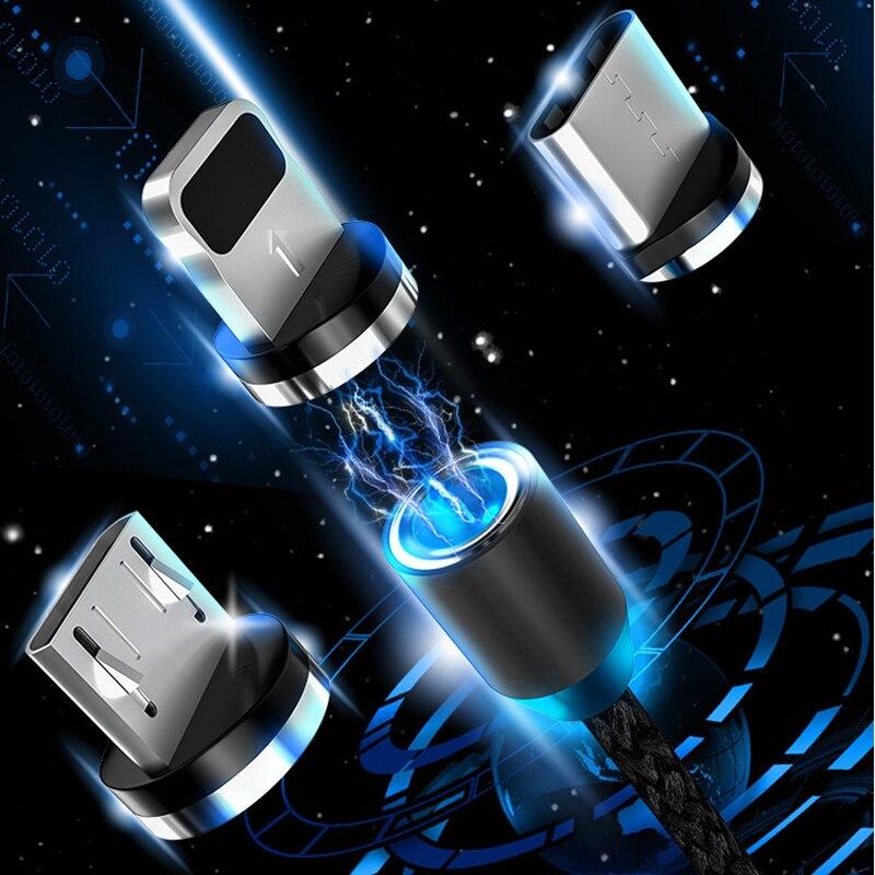 Магнитный USB-кабель для Samsung A5 A7 2017 J1 J2 J3 J5 J7 2016 A6 A8 J8 J2 Pro J6 J4 PLUS A7 A9 2018
