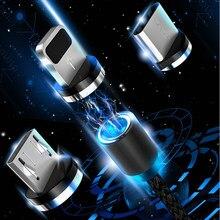 Cabo usb magnético 2.4a para celulares, fio para carregamento rápido para samsung a5 a7 2017 j1 j2 j3 j5 j7 2016 a6 a8 j8 cordão j2 pro j6 j4 plus a7 a9 2018