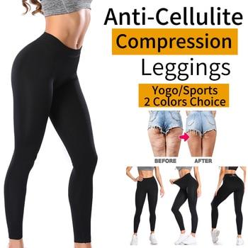 Anti Cellulite Black Leggings 1