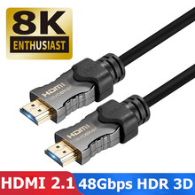 2019 8K HDMI 2,1 Kabel 48Gbps 4K @ 120Hz 2,1 HDMI Kabel Stecker-stecker HDMI2.1 Kabel dynamische HDR UHD HDMI HDMI 2,1 Kabel für DVD TV(China)