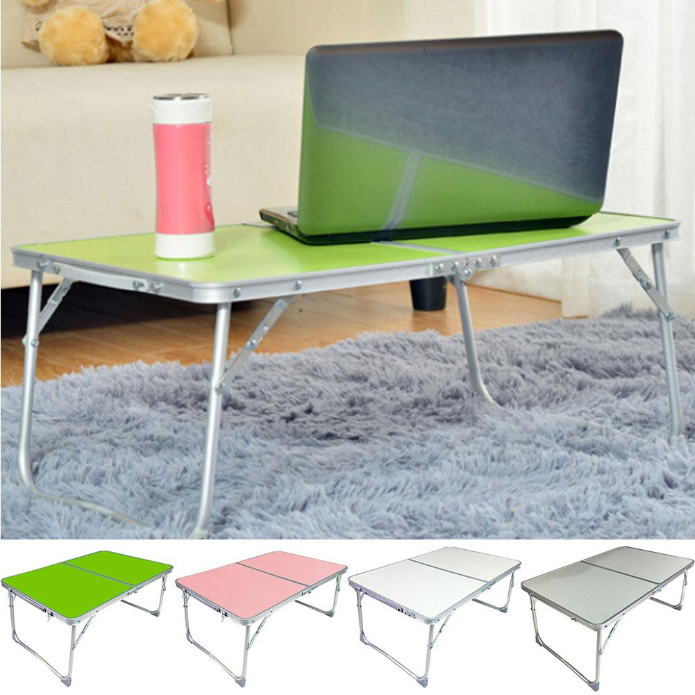 Foldable Metal Alloy Laptop Desk Stand Holder Notebook Picnic Outdoor Table New Free Drop Shipping
