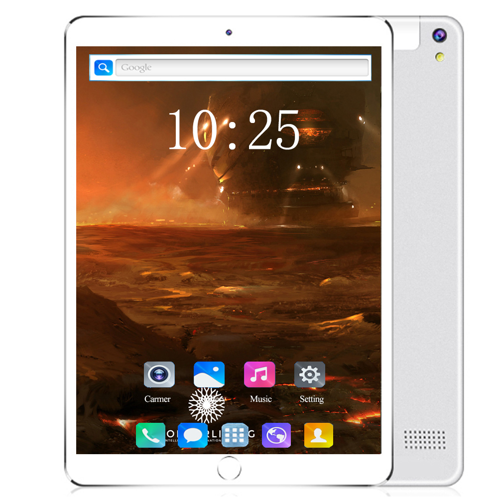 2020 Global Version 10 Inch Tablet PC 6GB RAM 128GB ROM 1280*800 IPS Dual SIM Card 4G LTE FDD Wifi Android 8.0 Wifi Tablet 10