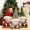 Christmas Decorations Santa Claus Faceless Baby Doll Window Decoration Christmas Supplies Nordic Style Decoration