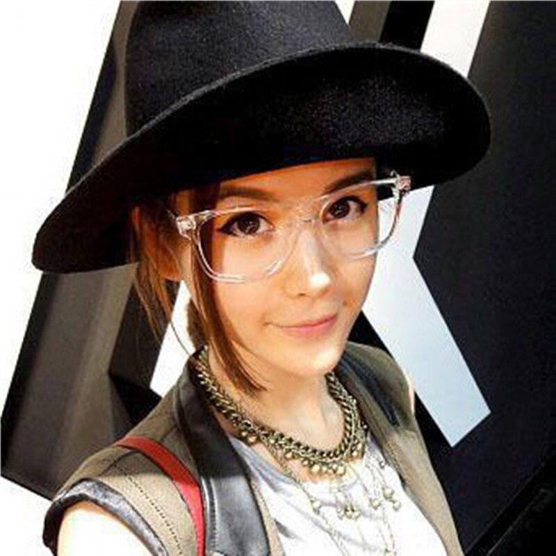 Retro men's Transparent glasses clear lenses PC Comotuer Square eyeglasses frames for women reading eyewear male Spectacle