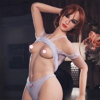Full Size Silicone with Skeleton Love Dolls Real Japanese Sex Doll Small Breasts Anal Vagina Pussy Doll Masturbation Sex Supplie