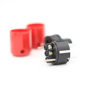 Image 4 - P330+C330 Audio Grade Rhodium Plated EU Schuko AC Power Plug+ IEC Connector Plug DIY Power Cord