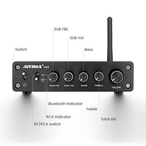 Image 3 - أيما مجهار النغمات خفيضة التردد TPA3116, مضخم صوت TPA3116D2، بلوتوث، هاي فاي، مكبرات صوت رقمية 2.1 قناة، 50 واط*2 + 100 واط تيار مباشر 12 24 فولت