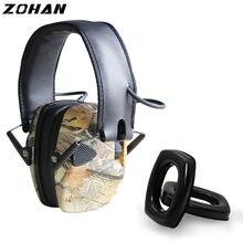 Электронные Наушники zohan nrr22db одинарный микрофон тактическая