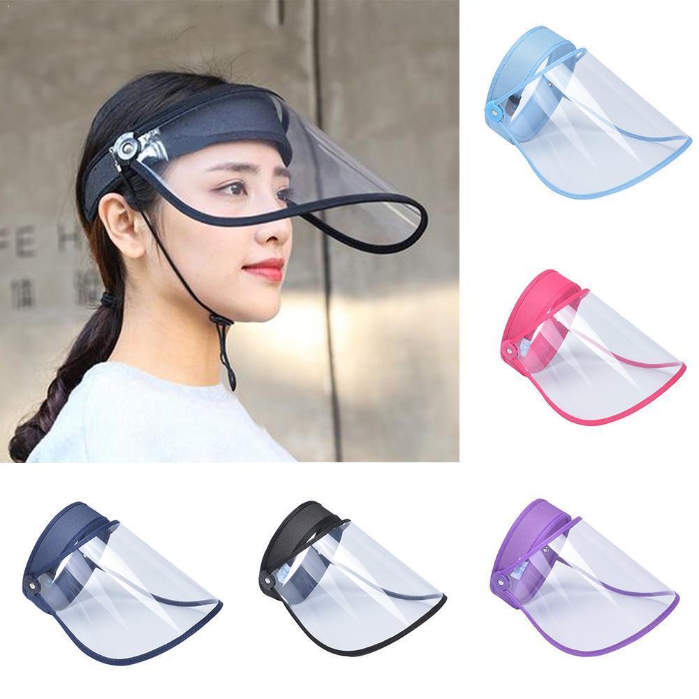 Protective Cap Breathable Unisex Transparent Protection Cap Gorras Hombre Top Empty Hat Hats Sun B4F2