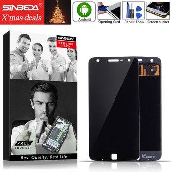 5.5 AMOLED For Motorola Moto Z Play XT1635 LCD Display Touch Screen Digitizer For MOTO Z Play LCD Screen XT1635 XT1635-02 LCD сотовый телефон motorola moto z play xt1635 black silver