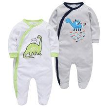 Одежда для маленьких мальчиков; боди carters с длинными рукавами;
