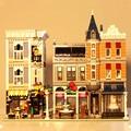 15019 criador cidade rua romântico restaurante conjunto vista rua bloco de construção 4002 peças tijolos brinquedos compatível criador 10255