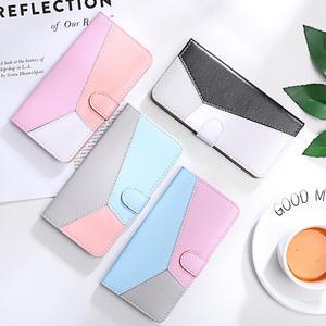 Splicing Flip Leather Wallet Case Xiaomi Redmi 7A Case Redmi 7 4X 6A Note 4 5 6 7 8 Pro 4X Mi A3 A1 A2 Lite 6X Phone Case Cover(China)