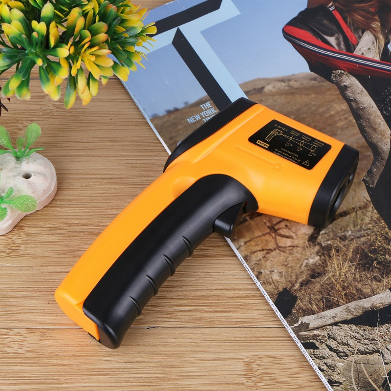 New LCD IR Infrared Thermometer BSIDE GM320 Non-Contact Digital Pyrometer Temperature Meter Point -50~380 Degree Termometr Hot