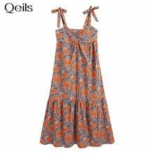 Qeils mini vestido de manga longa feminina sexy impressão único breasted rugas casual vestido de verão 2021 vestidos elegantes
