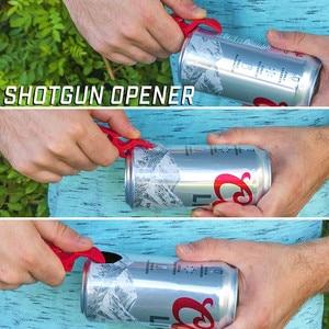 1 Portable Cap Gun Creative Flying Cap Launcher Bottle Beer Opener Bar Tool Drink Opening Bottle Lids Bottle Opener Key Ring#40