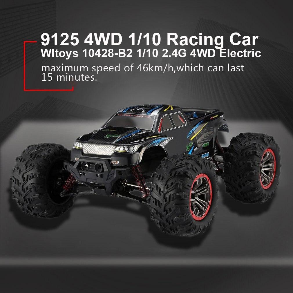 Высокое качество 9125 4WD 1/10 RC гоночный автомобиль с высокой скоростью 46 км/ч Электрический Supersonic грузовик внедорожник багги игрушки РТР - 4