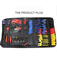 Multifunction Test Wire Car Repair Diagnostic Cables Connectors Professional Kit Electrical Testers Tool With Storage Bag MST 08