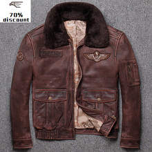 2020 New Leather Jacket Men Men's Genuine Biker genuine leather biker men sheeps