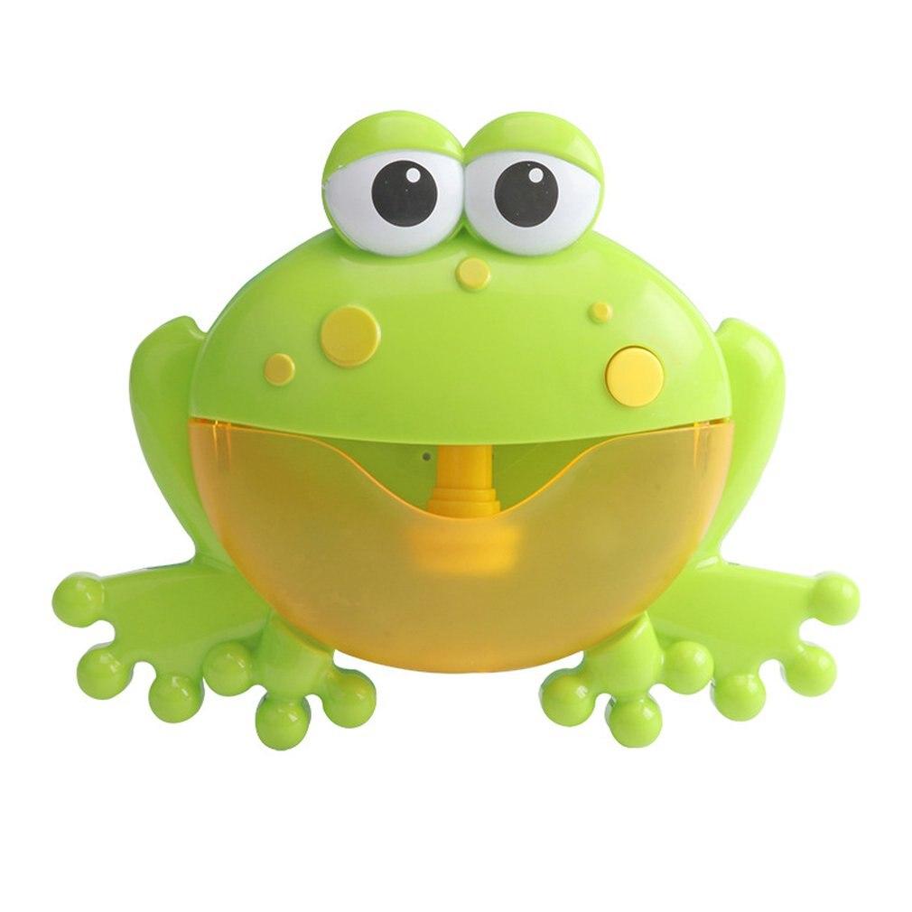 Baby Bath Toy Bubble Machine Bubble Frog Funny Bubble Maker Pool Swimming Bathtub Soap Machine Toys For Children Kid Shower