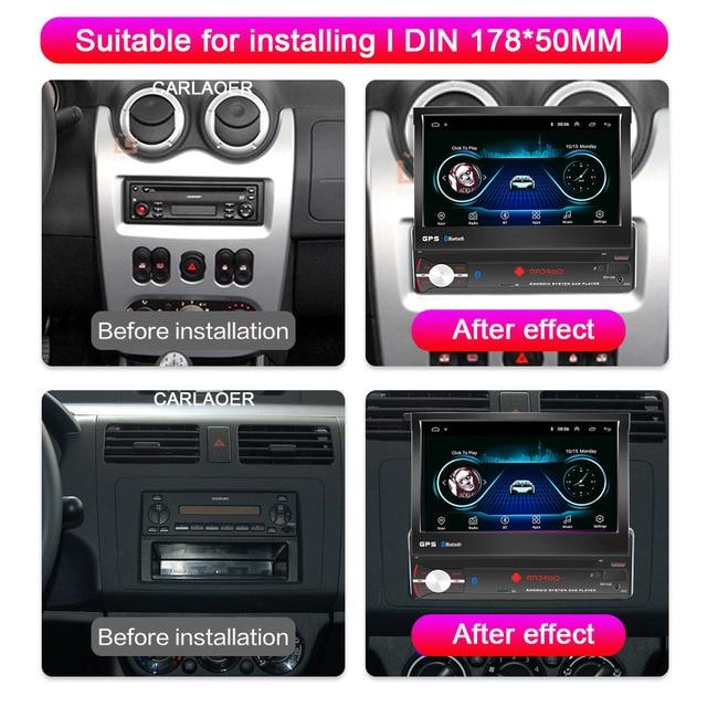 1din Android 9.0 Radio samochodowe odtwarzacz multimedialny GPS Audio stereo dla volkswagena Nissan Hyundai Kia Toyota Lada Ford Suzuki HONDA