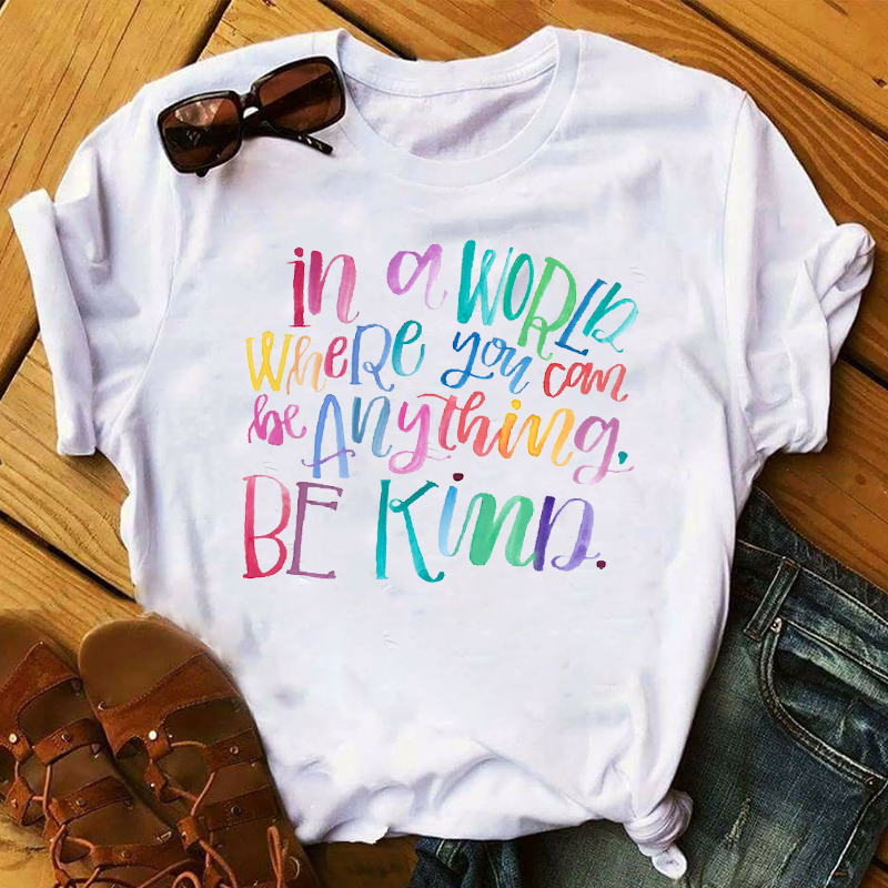 Женская модная одежда с надписью Good Vibes 2020, Женская Эстетическая футболка, Женская графическая футболка