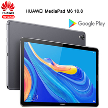 Original HUAWEI MediaPad M6 10.8 นิ้วKirin 980 OCTA Core Android 9.0 แท็บเล็ตType C 7500mAh 2560x1600 ลายนิ้วมือหน้าจอIPS