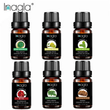 Inagla 6pcs Set Flower Fruit Essential Oil Relieve Stress Hu