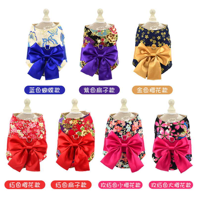 Dog's Straps Rope Dog Anti-Break Free Cat Tibby-Chest Traction Thai Vest Bear Pomeranian Unscalable Dogs